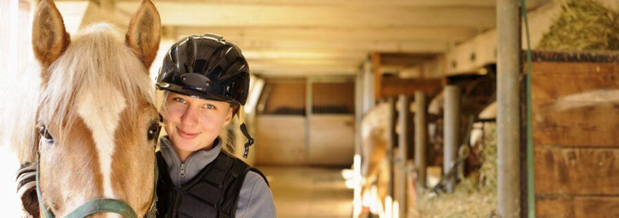 Angstfrei reiten ist der Traum von vielen Reitern.