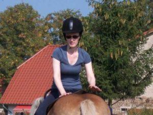 Besserer Sitz des Reiters