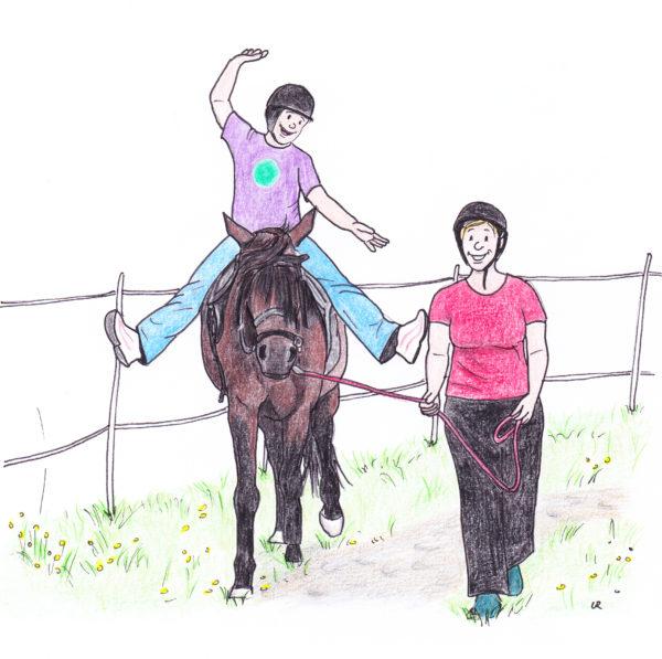 Einfach besser Reiten mit Balance bietet eine Menge Anregungen für ein gutes Gleichgewicht für Reiter