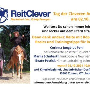 Neue Denkweise beim Tag der Cleveren Reiter am 02.10.2021